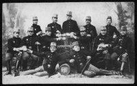 Skupina vojáků– foto r.1908