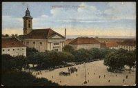Kostel a náměstí zroku 1911