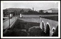 Okolí železniční vlečky zr.1945
