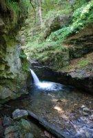 Přírodní památka Vodopády Stříbrného potoka