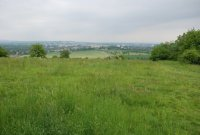 Pohled zPopovického kopce