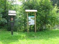 Přírodní památka Černé jezero– informační tabule