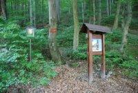 Přírodní rezervace Račí údolí– informační cedule