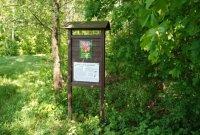 Národní přírodní rezervace Zástudánčí– cedule