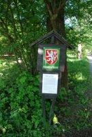 Přírodní rezervace Škrabalka– cedule