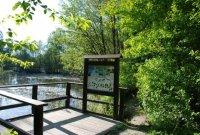 Přírodní památka Malé laguny– informační panel