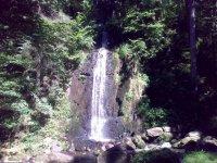 Umělý vodopád vTerčině údolí