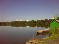 Pohled na Dřemlínský rybník