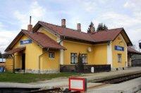 Vlakové nádraží vobci Zbytiny