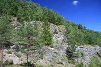 Vápencové skály vPR Kladrubská hora