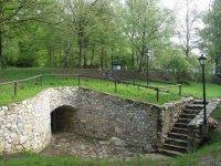 Výstupní místo zprostor Chýnovské jeskyně