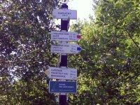 Turistické ukazatele vPR Rašeliniště Kapličky