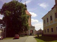 Kostel Sv. Prokopa vobci Orlík nad Vltavou