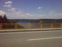 Pohled na nádrž Orlík ze Žďákovského mostu