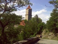 Věž hradu Zvíkov
