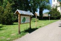 Zámecký park Čechy pod Kosířem– informační cedule
