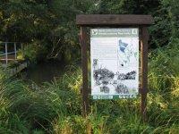 Přírodní rezervace Plané Loučky– informační cedule