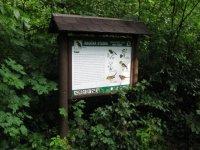 Přírodní rezervace Templ– informační cedule