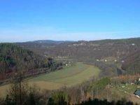 Výhled do údolí Jizery