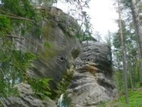 Erozí pískovce vznikají zajímavé tvary