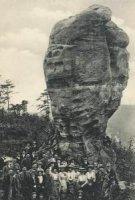 Tyršova skála na začátku 20.století