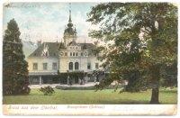 Zámek Velké Březno– historická pohlednice