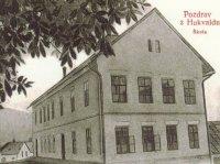 Rodný dům Leoše Janáčka na historické pohlednici