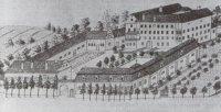 Stav zámku vroce 1817