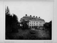 Zámek na fotografii zr. 1888