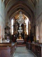Interier kostela