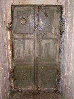 Ocelové dveře úkrytu
