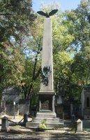 Tento památník byl postaven vroce 1869kpoctě Jindřicha Fügnera, prvního starosty Sokola pražského. Teprve později přibylo jméno Miroslava Tyrše a jméno jeho manželky Renaty, Fügnerovydcery.