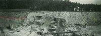 Zvětrávání kamene vlomu– od pevné skály po písek