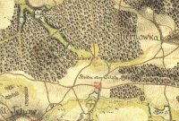 Cesty zakreslené při I. mapování