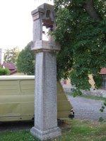 Žulová zvonice vnedalekém Pacově