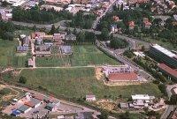 Pohled na areál Maškovy zahrady vr. 2000