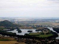 Výhled na Lovosice