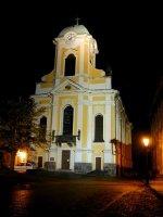 Noční Kostel sv.Petra a Pavla