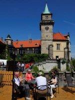 Zámecká věž je přístupná návštevníkům.