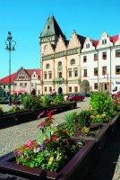 Žižkovo náměstí se starou radnicí
