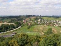 Pohled na obec