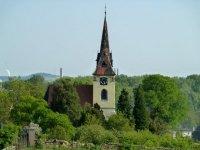 Pohled na kostel od Kalvárie
