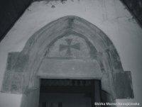 Gotický portál nad původním vchodem